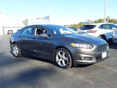 2016 Ford Fusion for sale at Gentilini Motors in Woodbine NJ