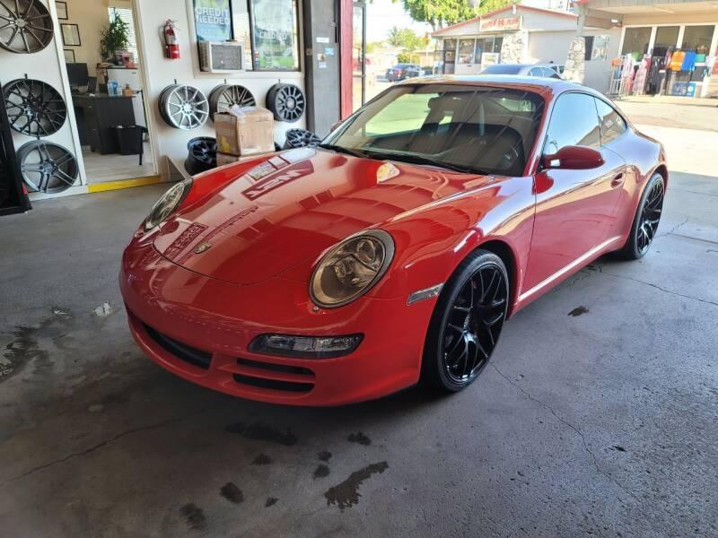 2005 Porsche 911 for sale at Auto Facil Club in Orange CA
