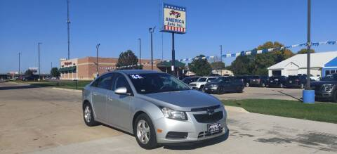 2011 Chevrolet Cruze for sale at America Auto Inc in South Sioux City NE