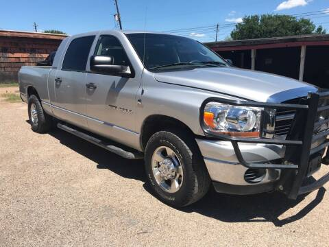 2006 Dodge Ram Pickup 2500 for sale at Texas Luxury Auto in Houston TX