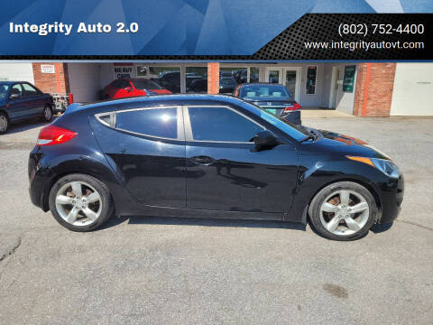 2012 Hyundai Veloster for sale at Integrity Auto 2.0 in Saint Albans VT