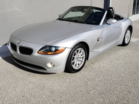 2004 BMW Z4 for sale at Classic Car Deals in Cadillac MI