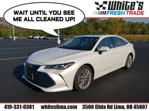 2019 Toyota Avalon for sale at White's Honda Toyota of Lima in Lima OH