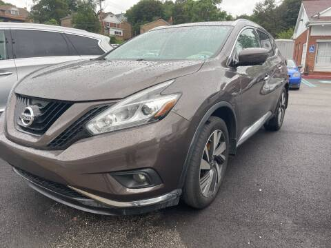 2016 Nissan Murano for sale at Fellini Auto Sales & Service LLC in Pittsburgh PA