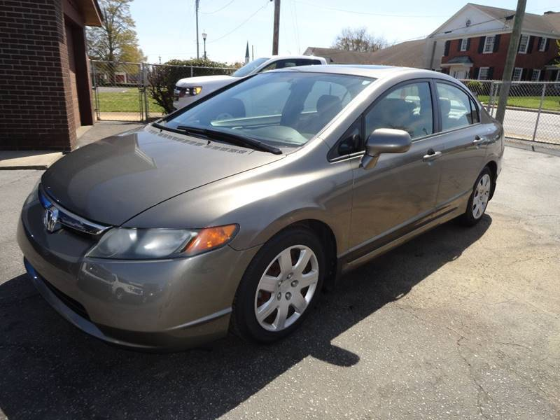 2007 Honda Civic for sale at McAlister Motor Co. in Easley SC