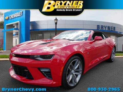 2017 Chevrolet Camaro for sale at BRYNER CHEVROLET in Jenkintown PA