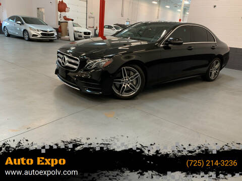2018 Mercedes-Benz E-Class for sale at Auto Expo in Las Vegas NV