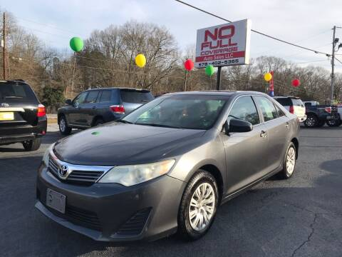 2013 Toyota Camry for sale at No Full Coverage Auto Sales in Austell GA