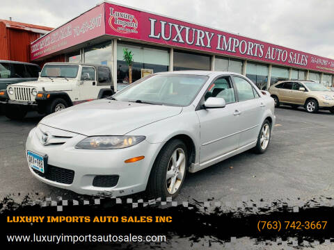2008 Mazda MAZDA6 for sale at LUXURY IMPORTS AUTO SALES INC in North Branch MN