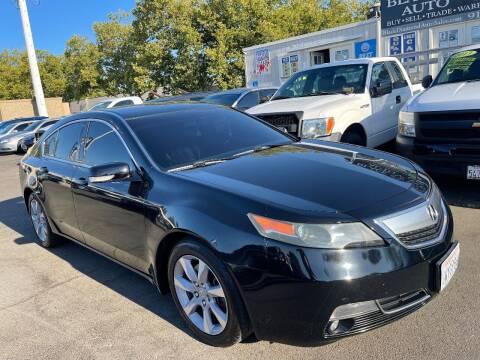 2013 Acura TL for sale at Black Diamond Auto Sales Inc. in Rancho Cordova CA