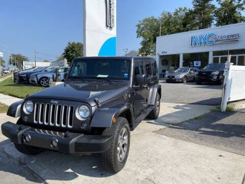 2017 Jeep Wrangler Unlimited for sale at NYC Motorcars in Freeport NY