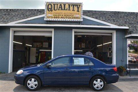 2003 Toyota Corolla for sale at Quality Pre-Owned Automotive in Cuba MO