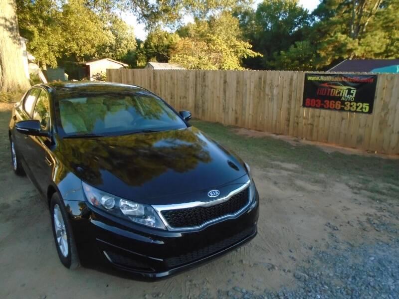 2011 Kia Optima for sale at Hot Deals Auto LLC in Rock Hill SC