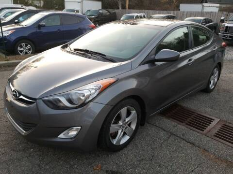 2013 Hyundai Elantra for sale at AMA Auto Sales LLC in Ringwood NJ