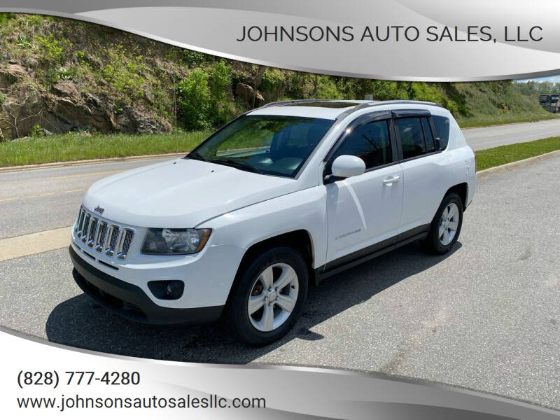 2014 Jeep Compass for sale at Johnsons Auto Sales, LLC in Marshall NC