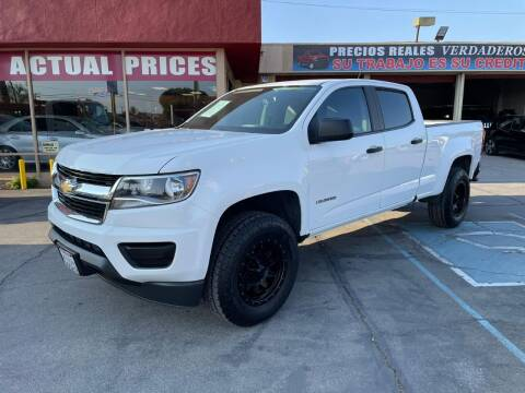2016 Chevrolet Colorado for sale at Sanmiguel Motors in South Gate CA