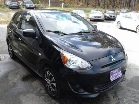 2015 Mitsubishi Mirage for sale at Quest Auto Outlet in Chichester NH