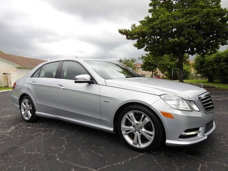 2012 Mercedes-Benz E-Class for sale at SUPER DEAL MOTORS 441 in Hollywood FL