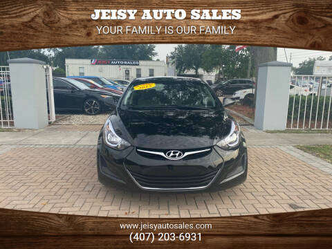 2016 Hyundai Elantra for sale at JEISY AUTO SALES in Orlando FL