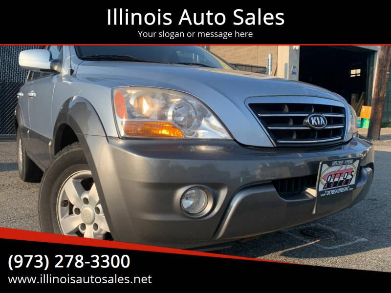 2008 Kia Sorento for sale at Illinois Auto Sales in Paterson NJ