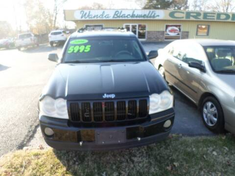 2006 Jeep Grand Cherokee for sale at Credit Cars of NWA in Bentonville AR