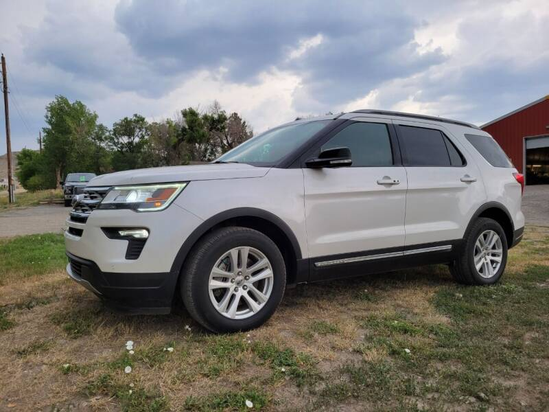 2018 Ford Explorer for sale at A & B Auto Sales in Ekalaka MT