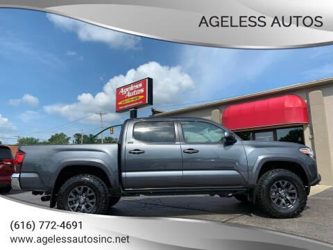 2021 Toyota Tacoma for sale at Ageless Autos in Zeeland MI