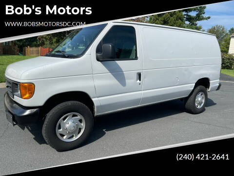 2006 Ford E-Series Cargo for sale at Bob's Motors in Washington DC