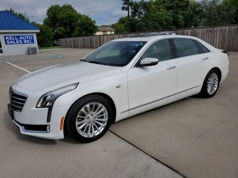 2017 Cadillac CT6 for sale at Kell Auto Sales, Inc - Grace Street in Wichita Falls TX