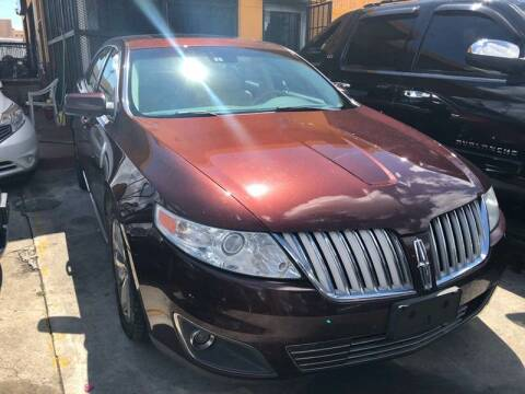 2009 Lincoln MKS for sale at America Auto Wholesale Inc in Miami FL