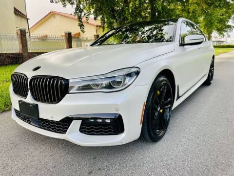2016 BMW 7 Series for sale at Imperial Capital Cars Inc in Miramar FL