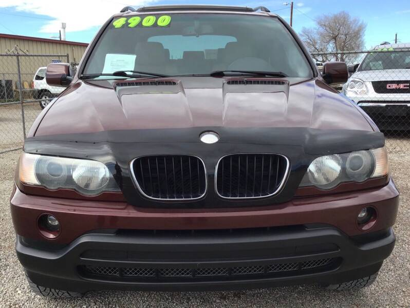 2001 BMW X5 for sale at The Auto Shop in Alamogordo NM