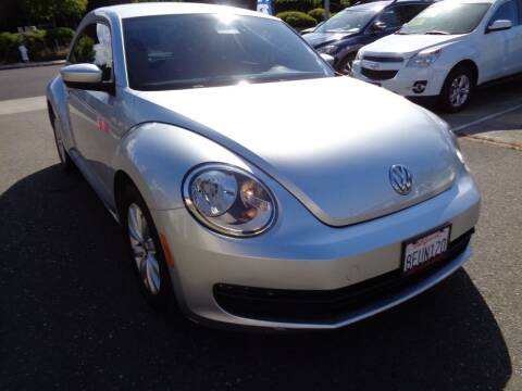 2013 Volkswagen Beetle for sale at NorCal Auto Mart in Vacaville CA