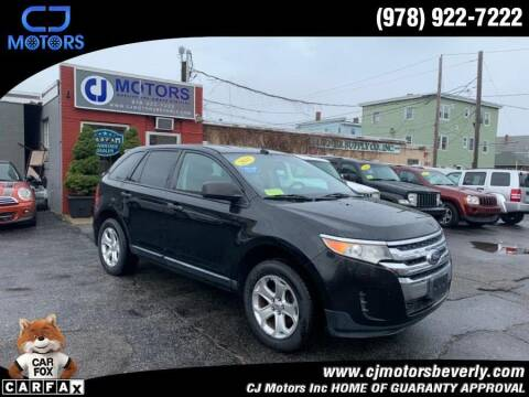 2011 Ford Edge for sale at CJ Motors Inc. in Beverly MA