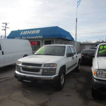 2007 Chevrolet Colorado for sale at Luxor Motors Inc in Pacoima CA