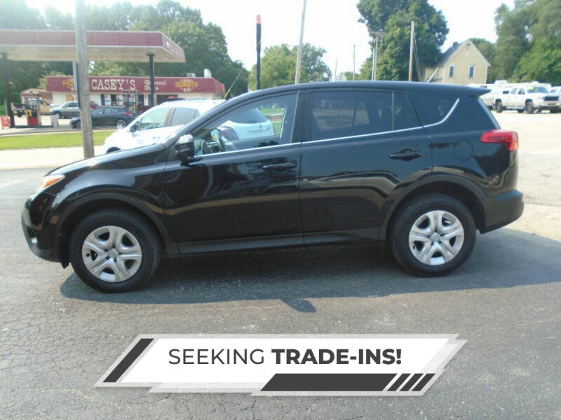 2015 Toyota RAV4 for sale at Nelson Auto Sales in Toulon IL