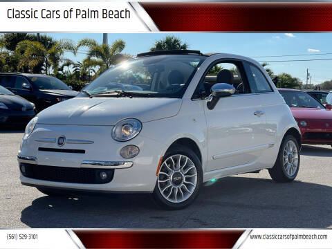 2013 FIAT 500c for sale at Classic Cars of Palm Beach in Jupiter FL