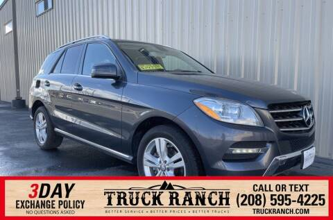 2013 Mercedes-Benz M-Class for sale at Truck Ranch in Twin Falls ID
