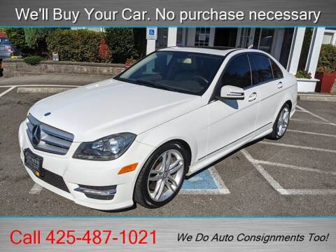 2013 Mercedes-Benz C-Class for sale at Platinum Autos in Woodinville WA
