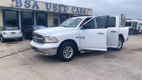 2015 RAM Ram Pickup 1500 for sale at BSA Used Cars in Pasadena TX
