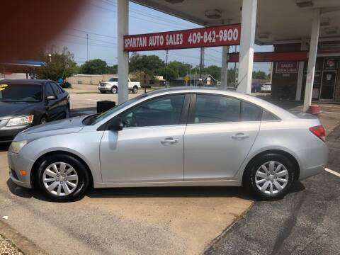 2011 Chevrolet Cruze for sale at Spartan Auto Sales in Beaumont TX