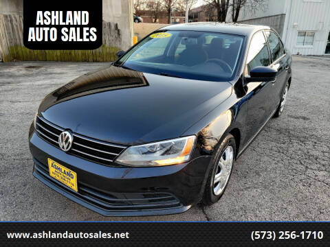 2015 Volkswagen Jetta for sale at ASHLAND AUTO SALES in Columbia MO