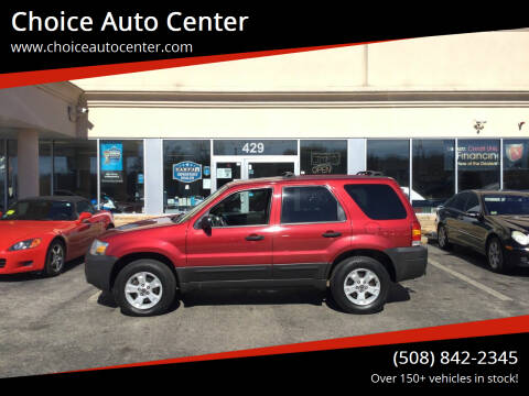 2006 Ford Escape for sale at Choice Auto Center in Shrewsbury MA