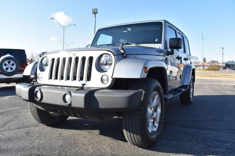 2014 Jeep Wrangler Unlimited for sale at Atlas Auto in Grand Forks ND