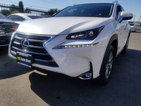 2017 Lexus NX 200t for sale at 916 Auto Mart ONLY $399 DOWN!!!* in Sacramento CA