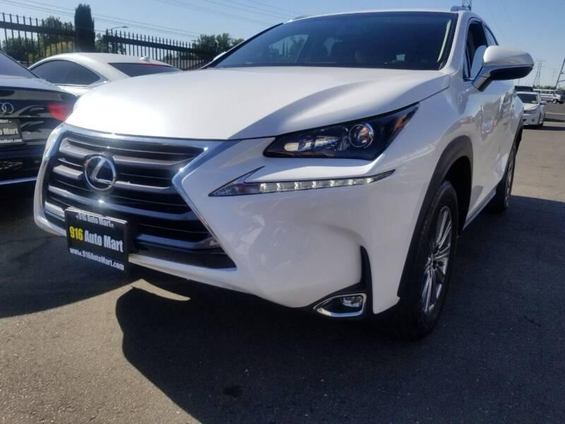 2017 Lexus NX 200t for sale at 916 Auto Mart in Sacramento CA