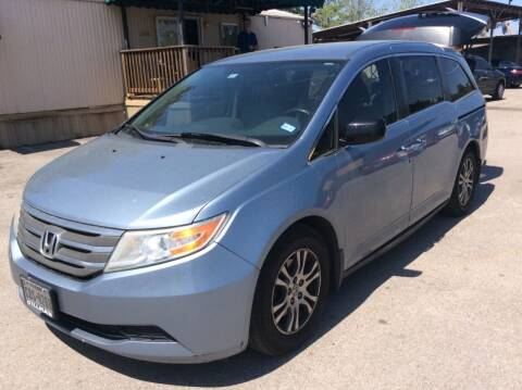 2013 Honda Odyssey for sale at OASIS PARK & SELL in Spring TX