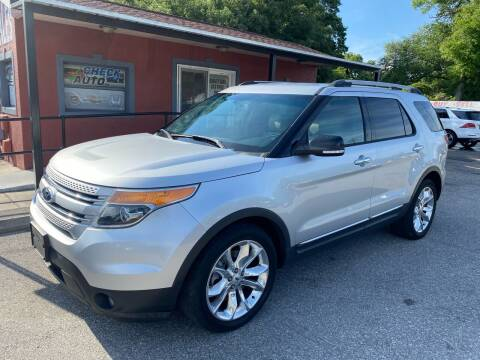 2013 Ford Explorer for sale at CHECK  AUTO INC. in Tampa FL