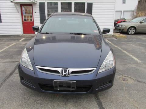 2007 Honda Accord for sale at Steven's Auto Sales in Derry NH
