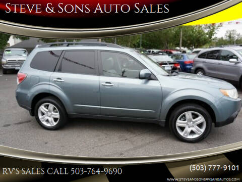 2010 Subaru Forester for sale at Steve & Sons Auto Sales in Happy Valley OR